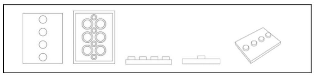 """Lego - Geschmacksmuster für """"Bausteine eines Spielbaukastens"""""""